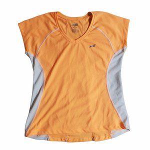 Avia Orange & White Workout Top Sz S